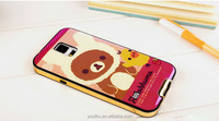 hot cute cartoon bear and duck image mix high quality tpu mobile case cover for samsung galaxy i9600