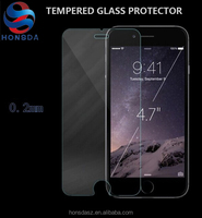 0.26mm 9H cell phone screen protector for iphone 5 iphone 6