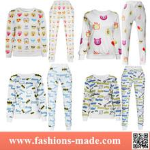 3D Print Plain Sweats Suits Women Hoodies and Pants Suits Pullovers for Sale