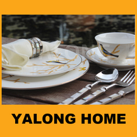 Cheap Custom Logo Ceramic Plates Dishes, Restaurant Plates Dishes