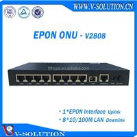 Made in China FTTH FTTx Fiber optic EPON ONU 8FE,GEPON MDU,optical receiver