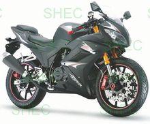 Motorcycle 200cc mini chopper