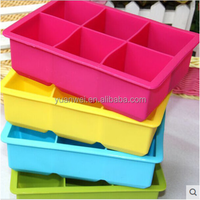 high quality food grade silicone ice cube tray