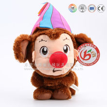 PV fleece monkey clown&toys proboscis monkey