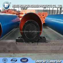 Electric drum pulley for mining belt conveyor system