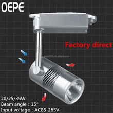 35w led track spot light look for taobao agent good quality with ce+rohs certification track led light/led track light