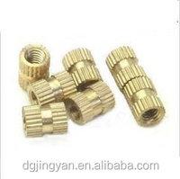 Brass Molded-In Blind Threaded Inserts PIBB-440 for plastic