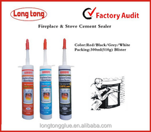 High Temperature Fireplace Cement Glue Adhesive