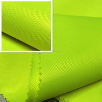 Fluorescent fabric with milky coated for bag/tent suzhou