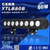 Hot sale! Single row straight 80W C.RE led light bar, car head lamp, led brake light