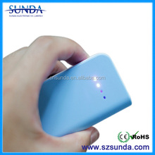 Promotional gift power bank with 2 degree to hold the cellphone and 5000mah