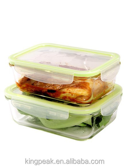 glass microwave food container glass bento lunch box glass. Black Bedroom Furniture Sets. Home Design Ideas