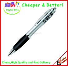 2015 hotsales Cheap price logo printed promotional plastic pen