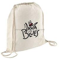 2015 hight quality cheap 12oz black cotton canvas drawstring bag for 1 c printing MOQ is 500pcs