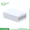 Smart charger 6 usb travel charger 10.2a