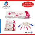 Hcg prueba de embarazo kit / One step HCG urine pruebas / homeuse bebé tira de prueba