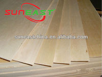 basswood plywood sheet for kid toys and with E0 glue