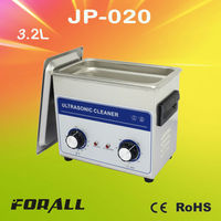 3.2L jewelry/crystal/gem ultrasonic cleaner JP-020(CE&RoHS certification)