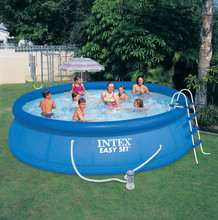 2015 Outdoor plastic intex swimming pools for sale swimming pool solar blankets for inground pools