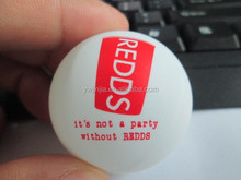red cup logo 40mm 0star quality white beer pong ball for beer pong game