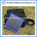 Rohs carregador solar celular, pequeno rápido carregador de telefone celular para celular