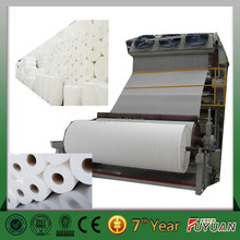 high quaity and best price small toilet paper roll making machine, waste paper making machine in paper making industry