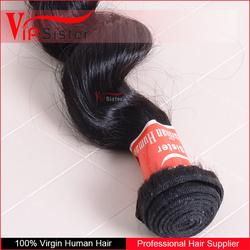 natural color loose wave grade 7a cna be dyed indian virgin hair weave bundles