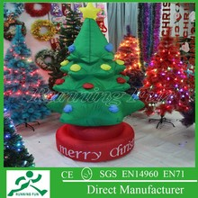 Fashion inflatable christmas tree manuacturer, christmas decoration