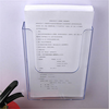2015 china manufacturer cheapest wall mounted acrylic brochure holder