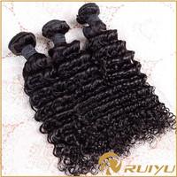 Unprocessed wholesale short indian remy jerry curl hair weave new delhi
