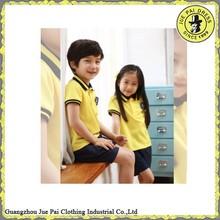 Kids school uniform polo shirt and pants