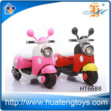More popular Mikey design kids ride on electric power kids motorcycle bike HT6688