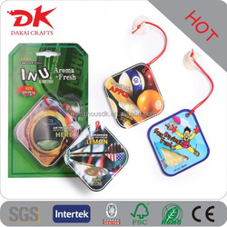 Personalized high quality top selling blister paper protected car freshener