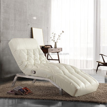 Cheap Faux Leather Indoor Chaise Lounge