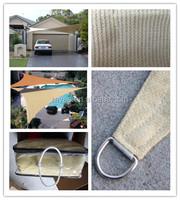 6 needles car parking sun shade net, Parque de estacionamento sol sombra liquida