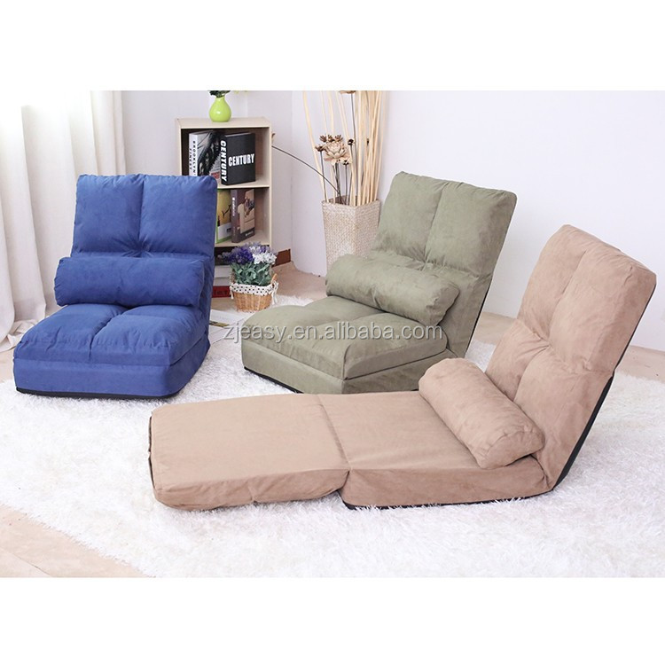 Folding Sofa Legless Floor Folding Sofa Portable Foam Sofa Chair