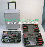 Aluminum durable handcrafted hot sale in occident trolley case opening tool with logo printed