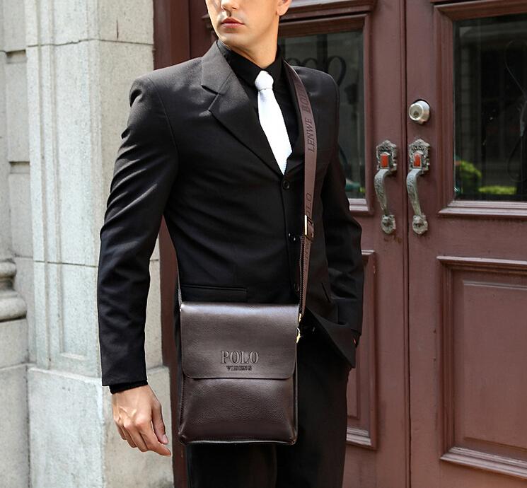 Мужская сумка из кожи фото