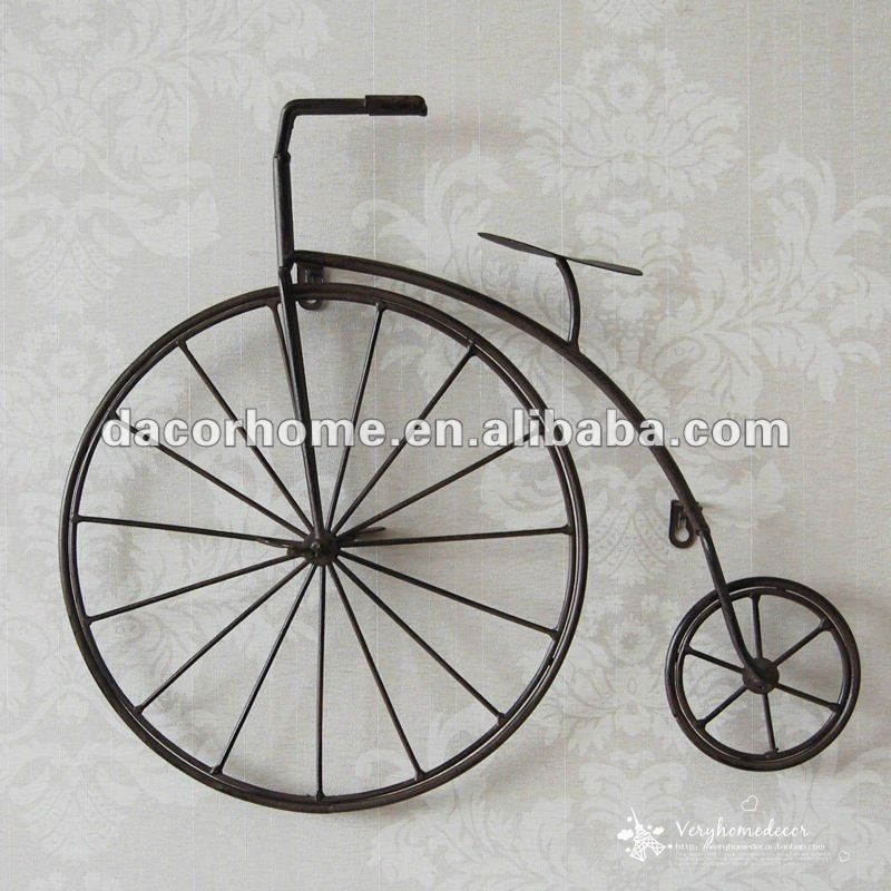 2012 nuevo dise o de bicicletas de metal decoraci n de la for Adornos pared metal