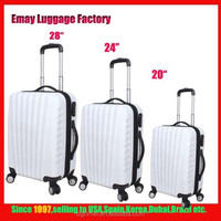 Hot Sale Factory Price Cheap 4 Wheels ABS Luggage