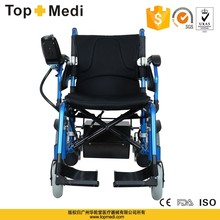 Rehabilitation therapy china medical supplier folding electric power wheel chair prices for handicapped for sales