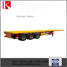 Container Chassi/40FT Skeleton Semi Trailer