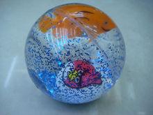 TPU 6.5 Glitter bouncing ball