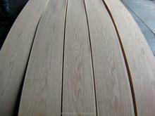 crown cut white Oak veneer for furniture/doors/panels