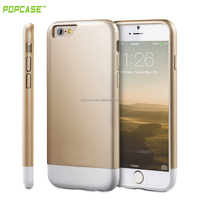 Combo with 2 parts double colors TPU Phone cover case For iphone6s