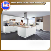 Zhihua high glossy acrylic self assemble carcase material kitchen cabinet design for kitchen furniture