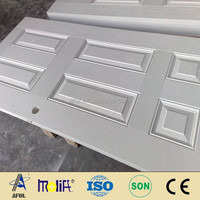 Zhejiang AFOL Fiberglass Door and Door Skin 6 Panel Fiberglass Shed Door