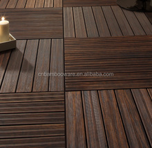 Decking Floor of Bamboo Material