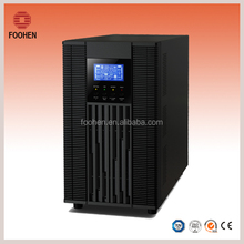 Single Phase IGBT 6Kva 4800w Inverter LCD Online UPS with External Battery