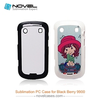 Top quality Sublimation mobile Phone Cover For Black Berry9900